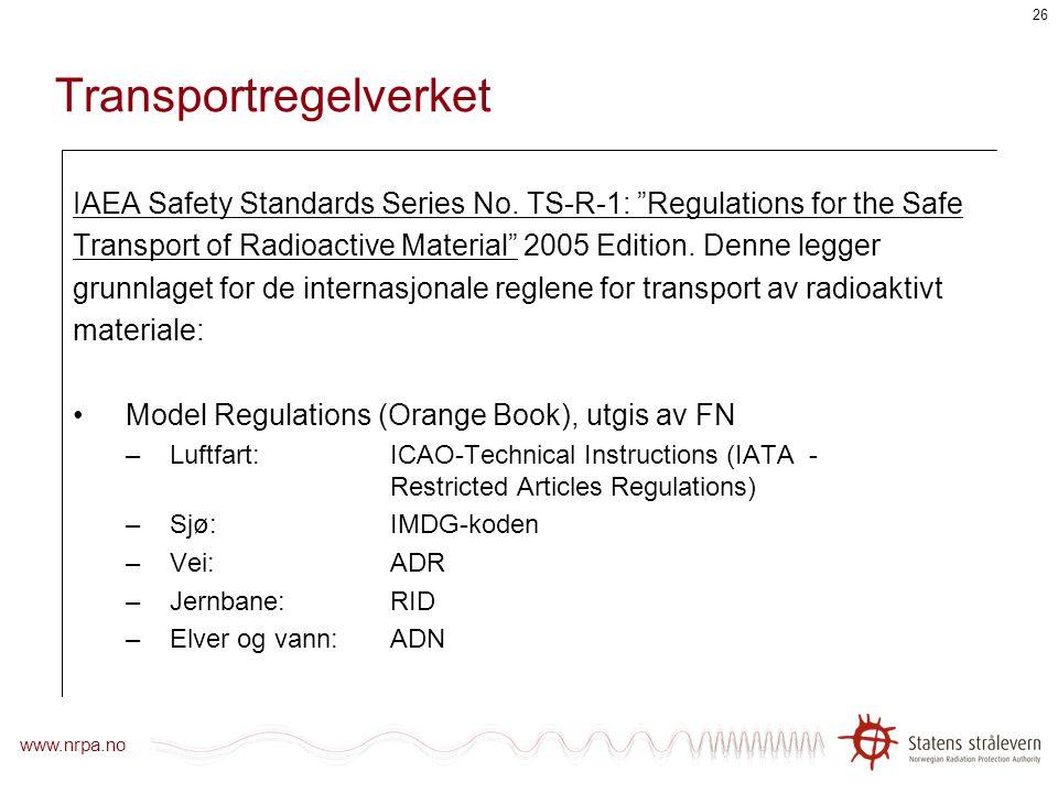 Stråleverntimen Transport av radiografikilder Sverre Hornkjøl og Tonje Sekse NDT-seminar, Haugesund, 3. juni 2008