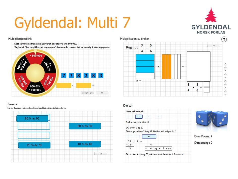 Gyldendal: Multi 7