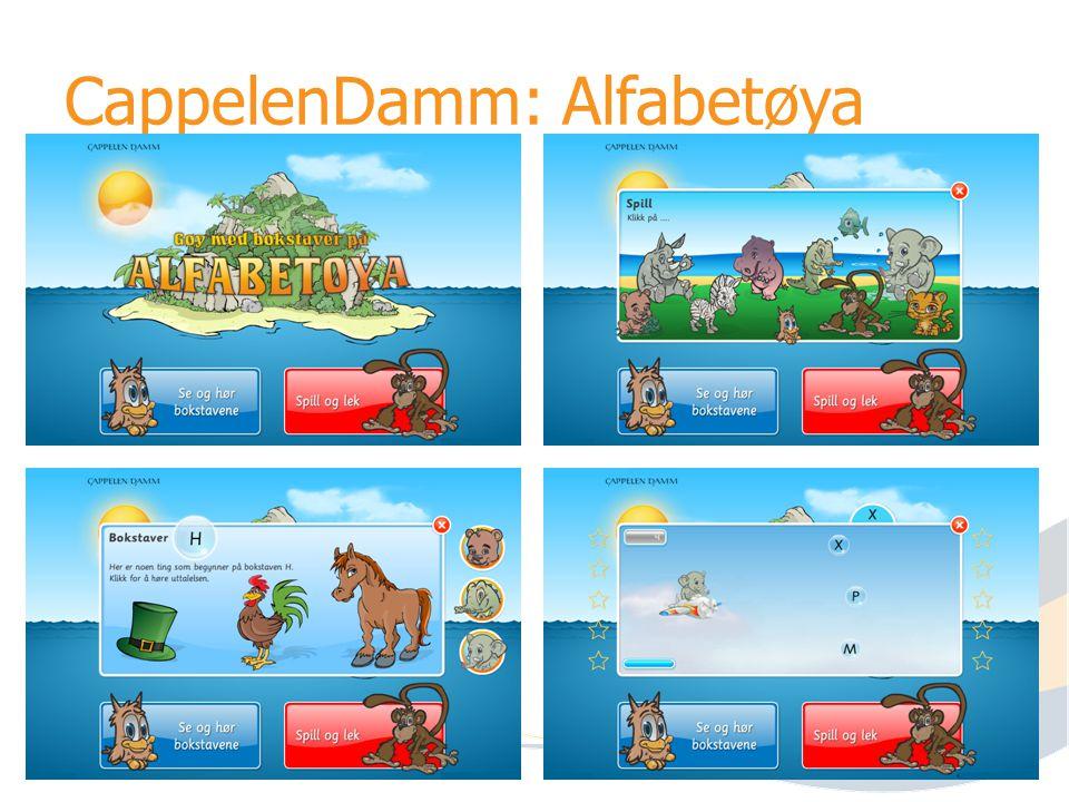 CappelenDamm: Alfabetøya