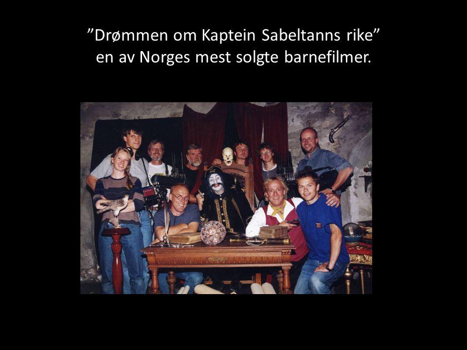 """Drømmen om Kaptein Sabeltanns rike"" en av Norges mest solgte barnefilmer."