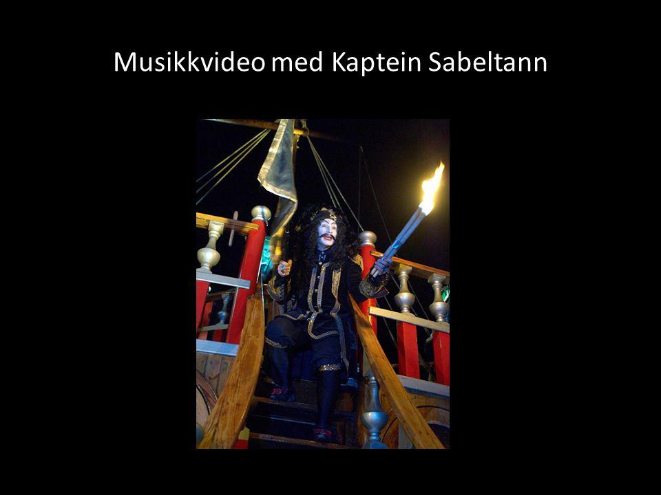 Musikkvideo med Kaptein Sabeltann