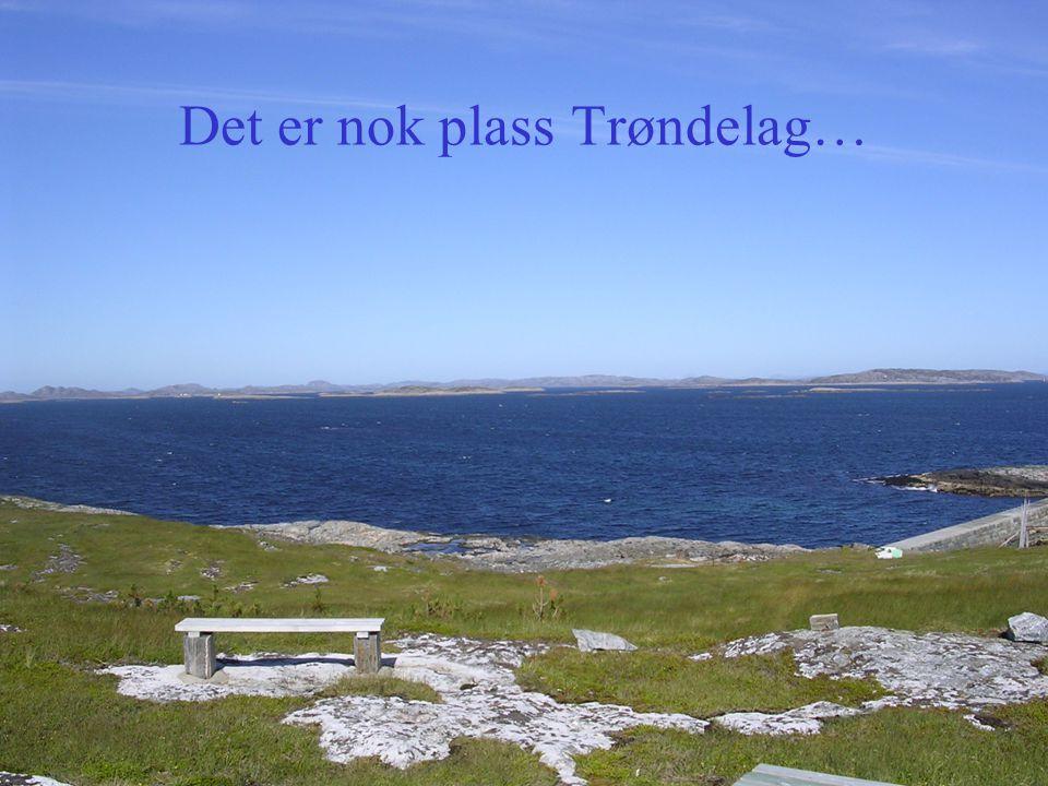 Det er nok plass Trøndelag…