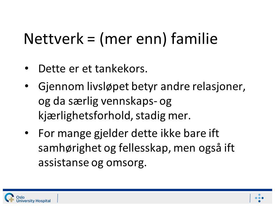 Funksjonshemming og vennskap blant unge Flere store undersøkelser – for eksempel Ung i Norge – har sett på denne sammenhengen: Funksjonshemmede har færre venner enn andre.