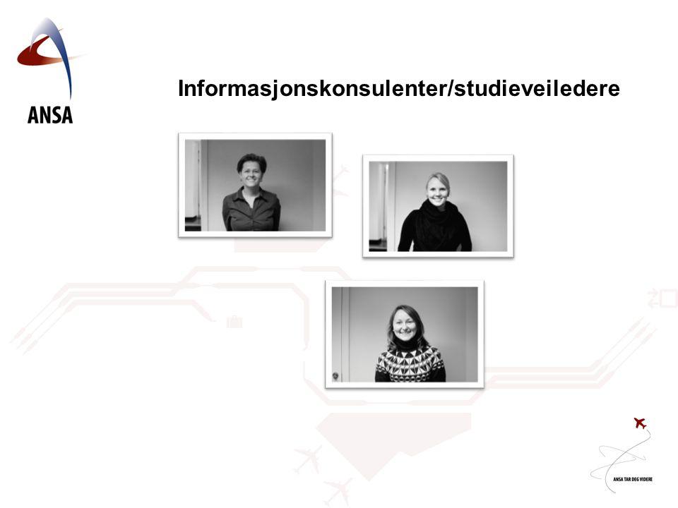 Informasjonskonsulenter/studieveiledere