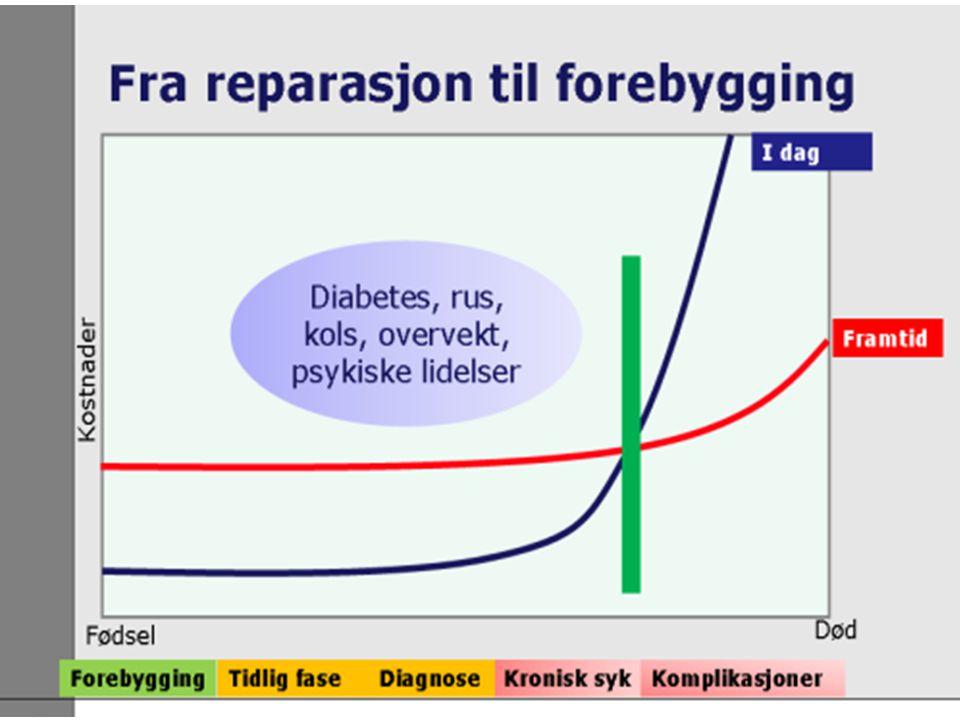 Type 1-diabetes For og mot behandling i lokalmedisinske sentra.