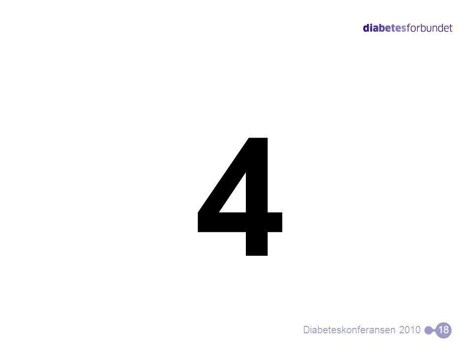 4 Diabeteskonferansen 201018