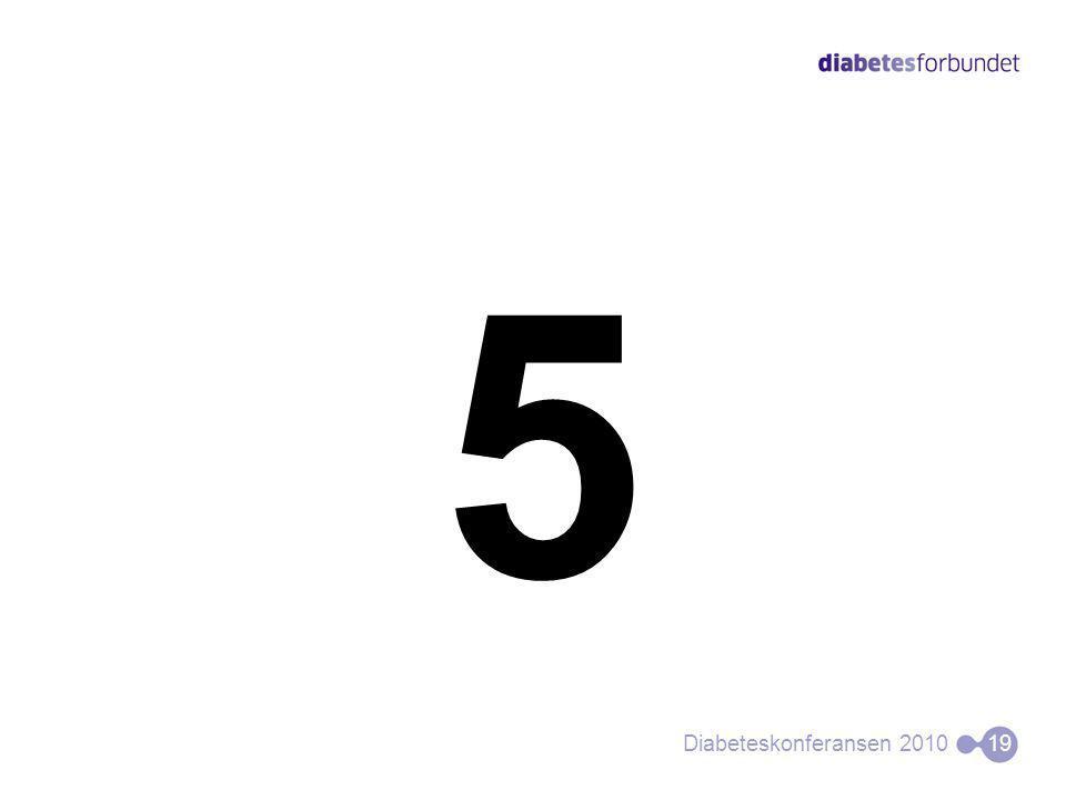 5 Diabeteskonferansen 201019