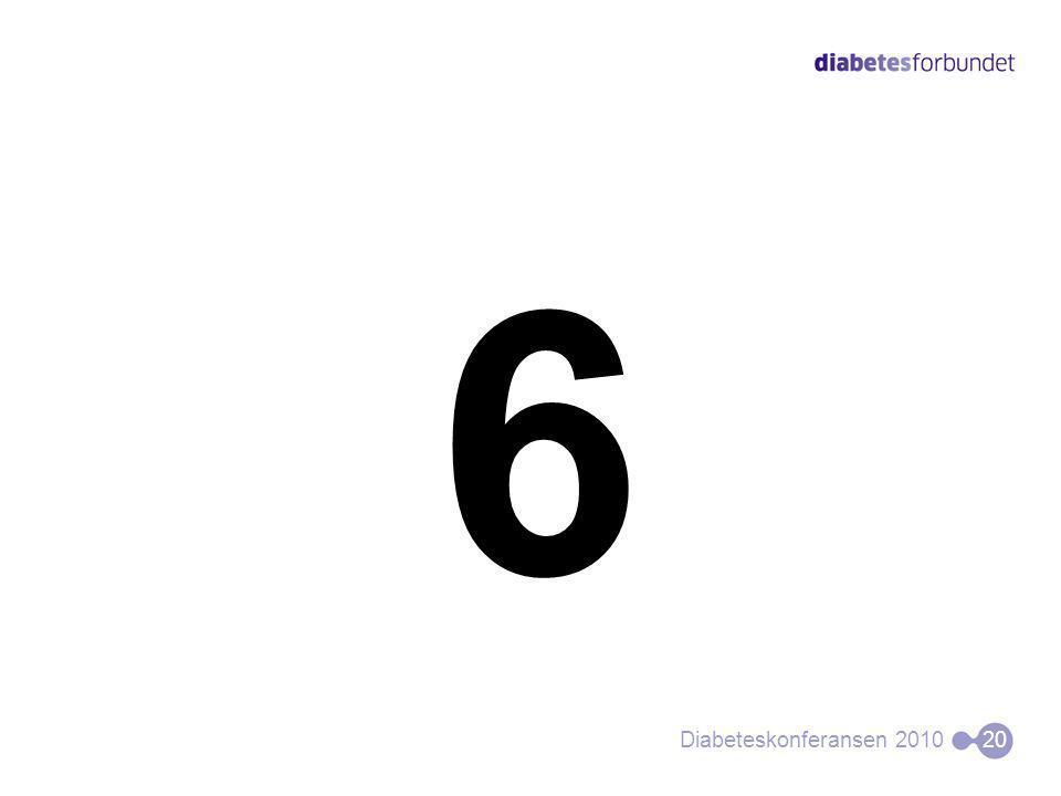 6 Diabeteskonferansen 201020