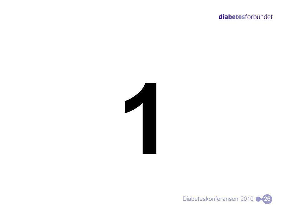 1 Diabeteskonferansen 201026