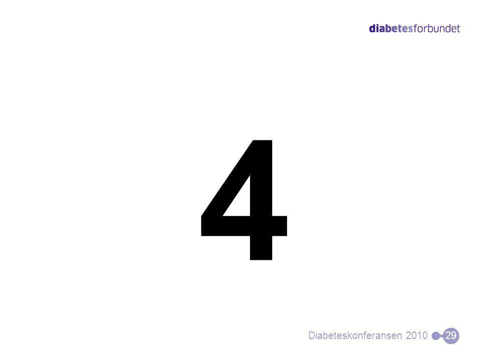 4 Diabeteskonferansen 201029