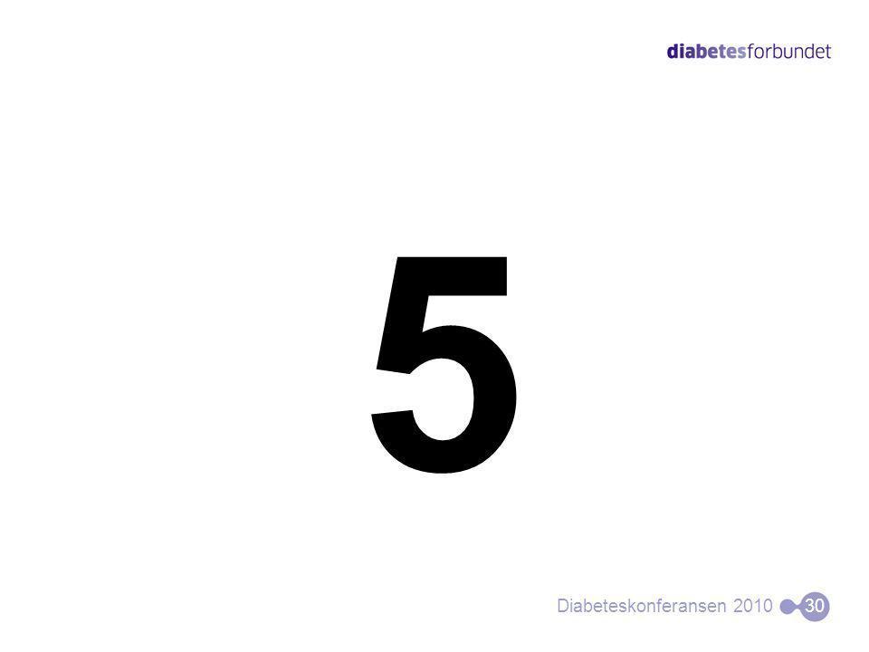5 Diabeteskonferansen 201030