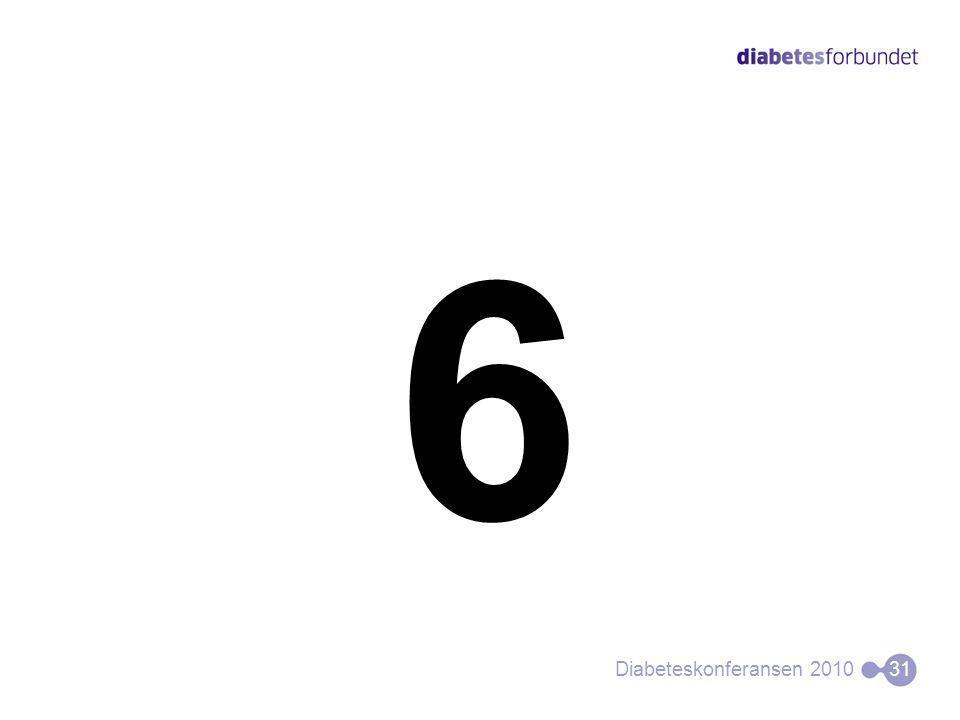 6 Diabeteskonferansen 201031