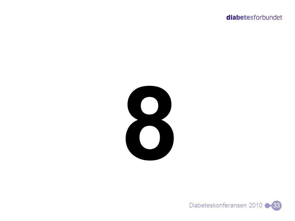 8 Diabeteskonferansen 201033