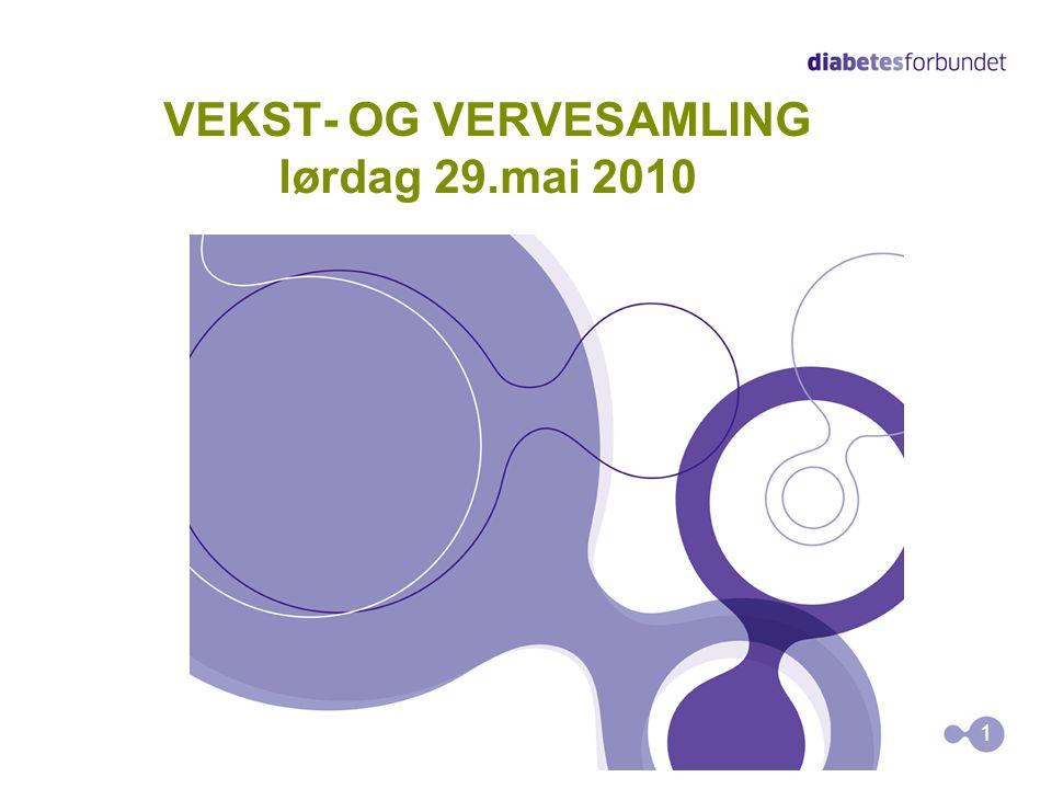 VEKST- OG VERVESAMLING lørdag 29.mai 2010 1