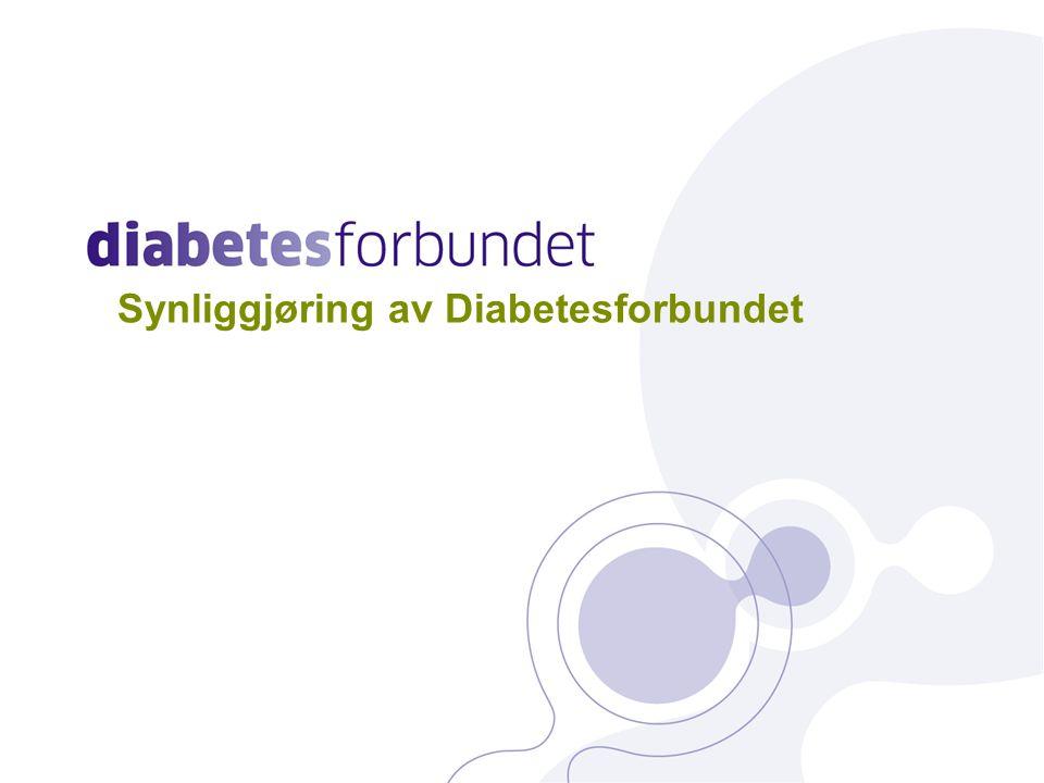 Synliggjøring av Diabetesforbundet 27
