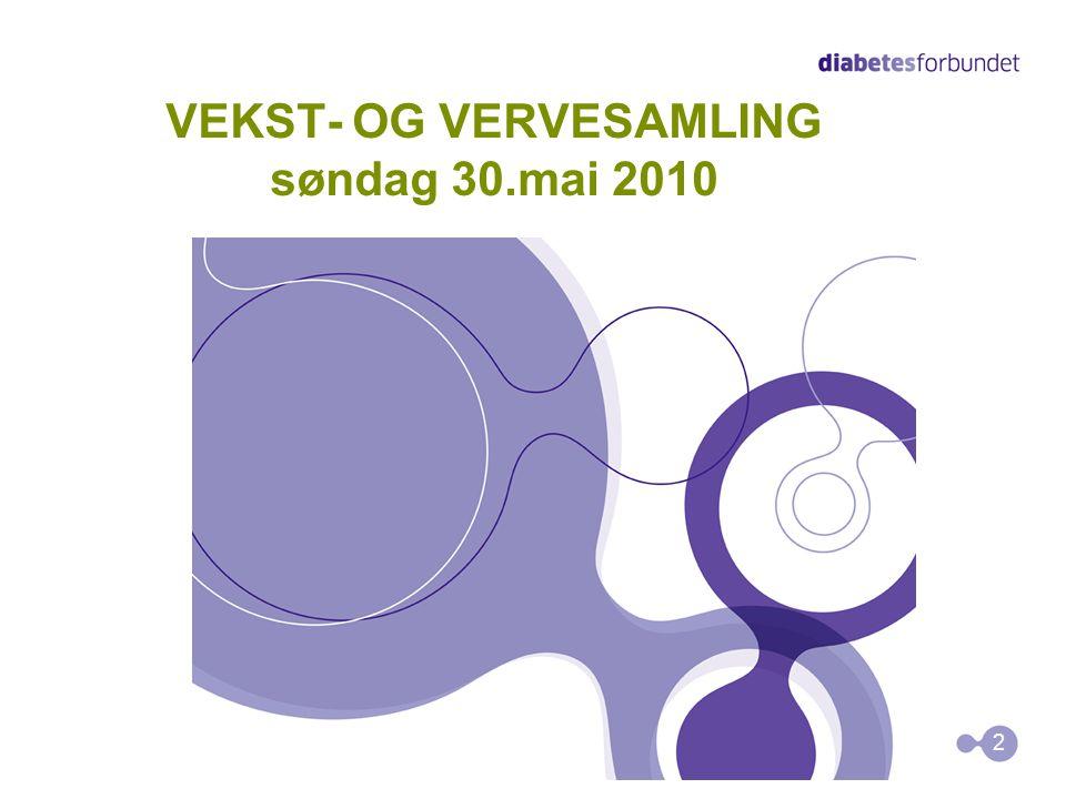 VEKST- OG VERVESAMLING søndag 30.mai 2010 2