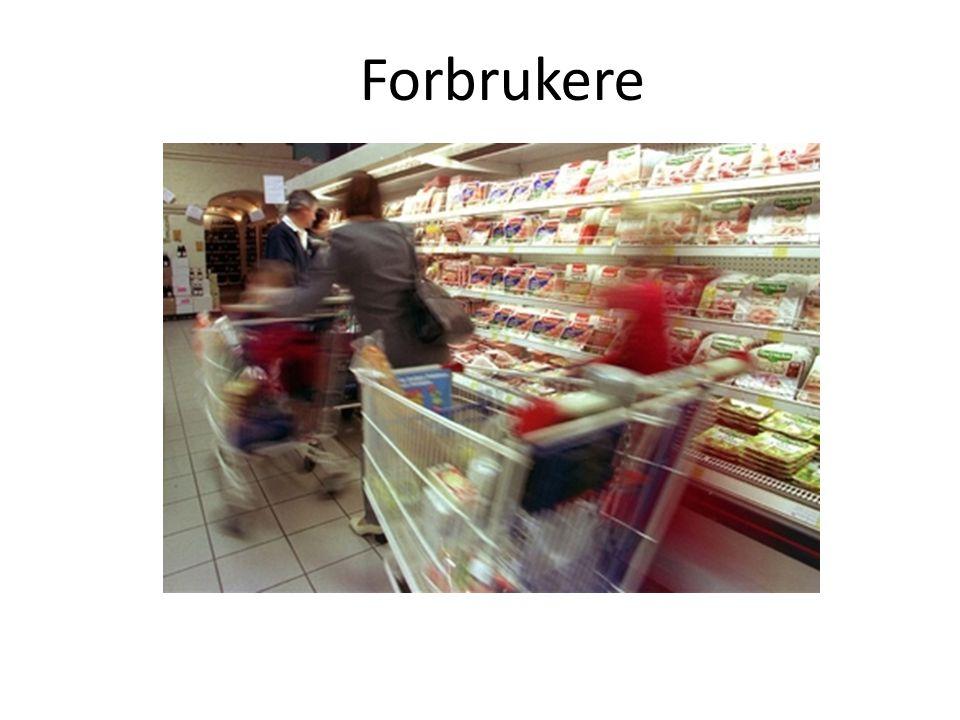 Forbrukere