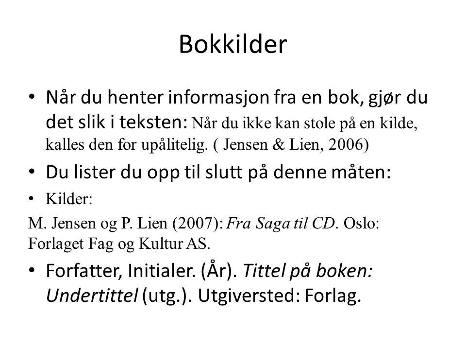 Åndsverkskloven Se i 9B boka s.13 om denne loven.