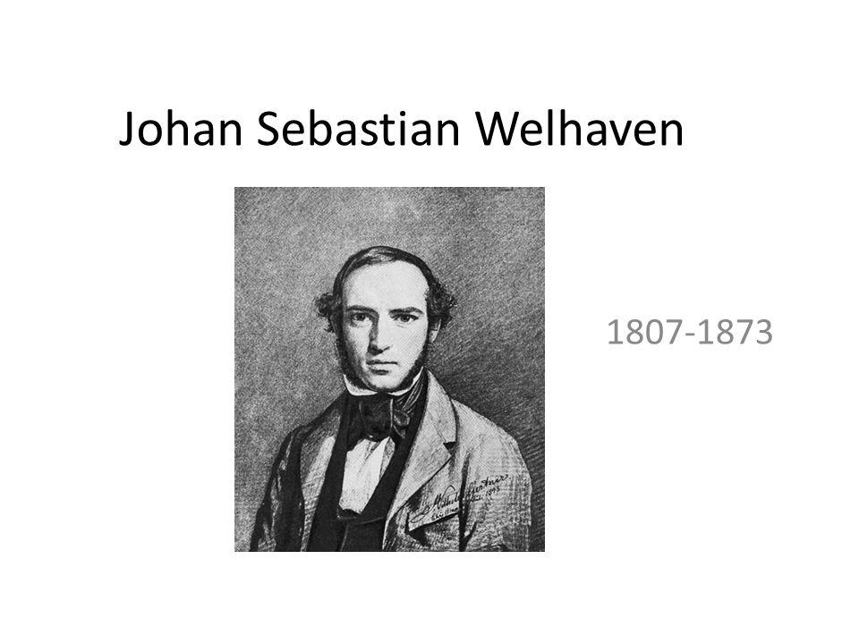 Johan Sebastian Welhaven 1807-1873