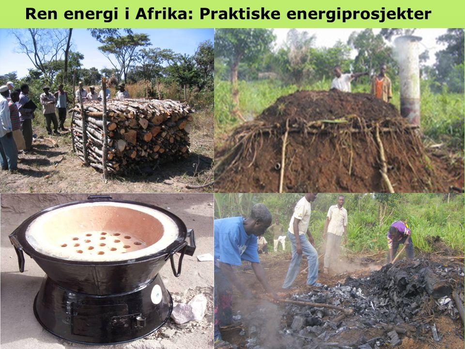 Ren energi i Afrika: Praktiske energiprosjekter