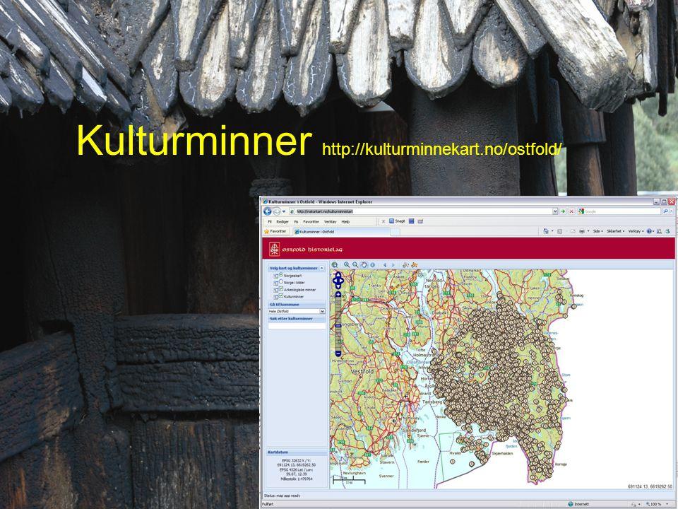 Kulturminner http://kulturminnekart.no/ostfold/