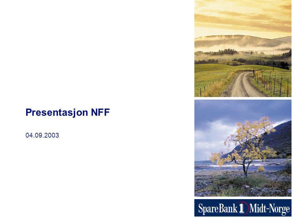 04.09.2003 Presentasjon NFF
