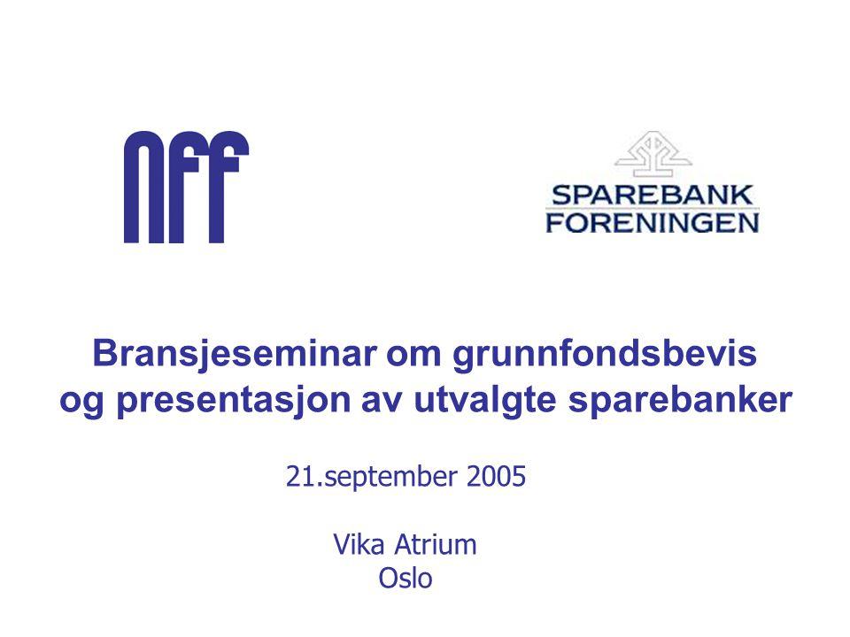 Invitasjon til Utskriftsvennlig versjon Er sparebankenes grunnfondsbevis fortsatt et attraktivt investeringsobjekt.