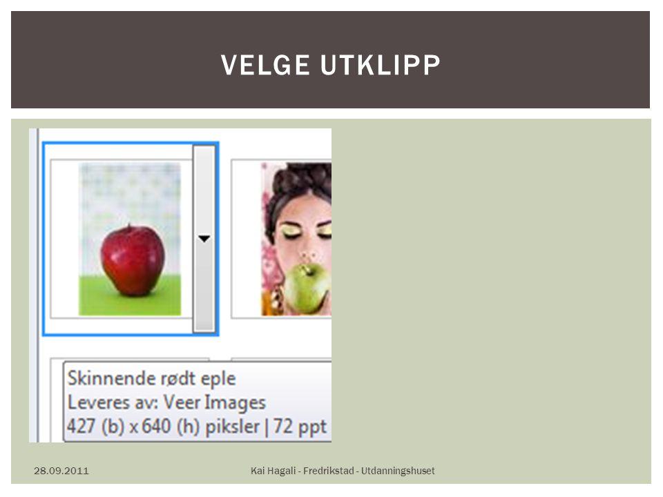 28.09.2011Kai Hagali - Fredrikstad - Utdanningshuset VELGE UTKLIPP