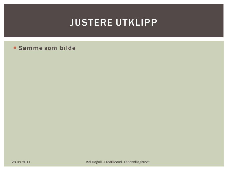  Samme som bilde 28.09.2011Kai Hagali - Fredrikstad - Utdanningshuset JUSTERE UTKLIPP