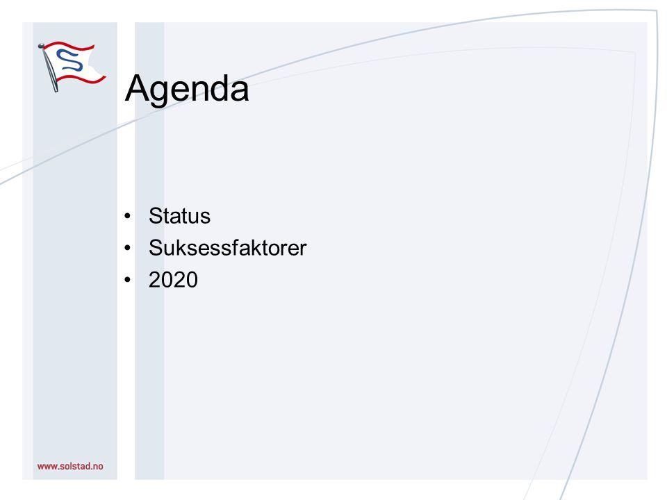 Agenda Status Suksessfaktorer 2020