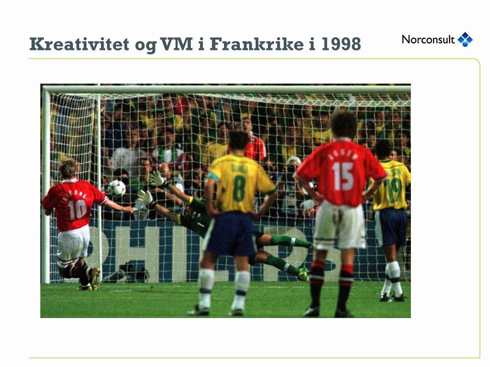 Kreativitet og VM i Frankrike i 1998