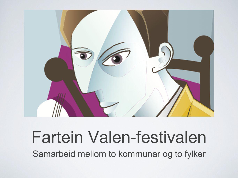 Fartein Valen-festivalen Samarbeid mellom to kommunar og to fylker