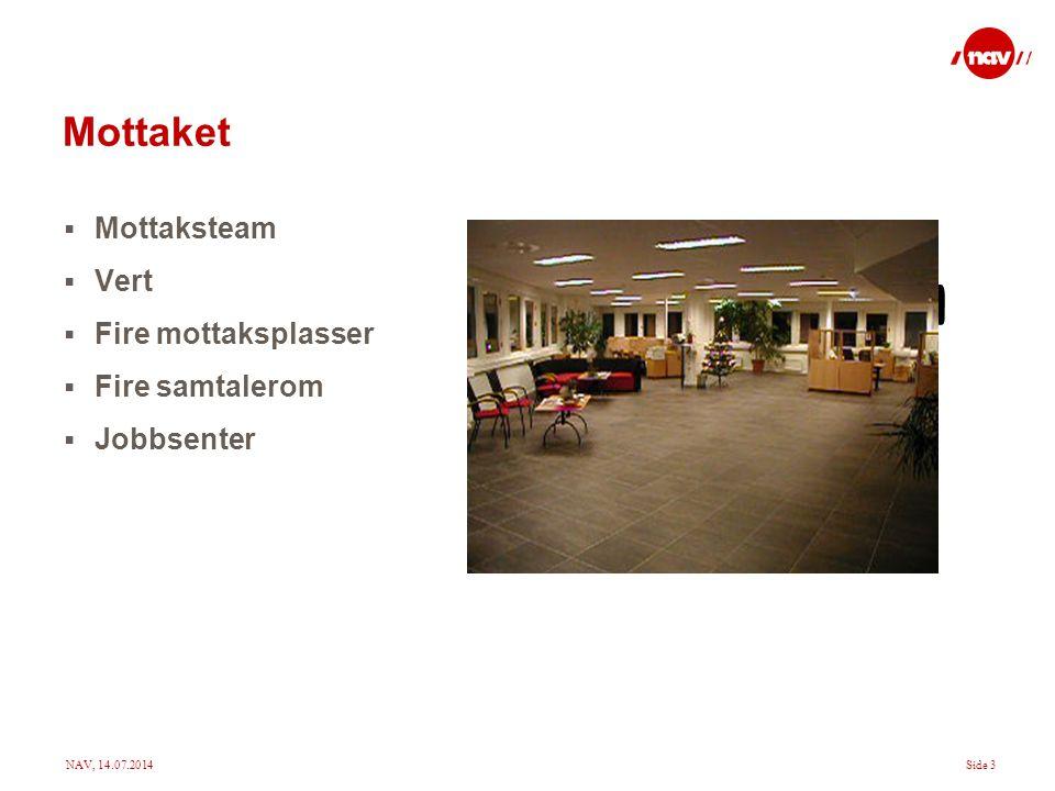 NAV, 14.07.2014Side 4 Organiseringen av kontoret Bransjer Kommune og offentlig Industri og primær Handel og service