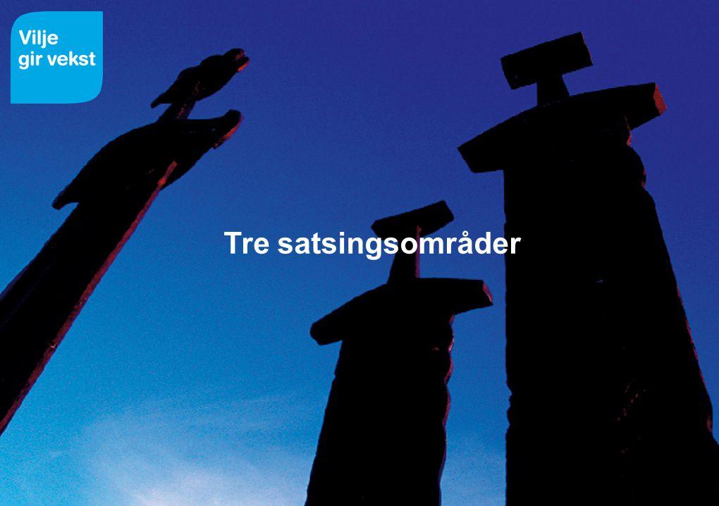 14.07.2014 Tre satsingsområder
