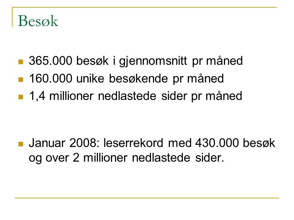 Nyhetsavis - og kunnskapsbank Forskning.no brukes som kunnskapsbank i tillegg til nyhetsavis.