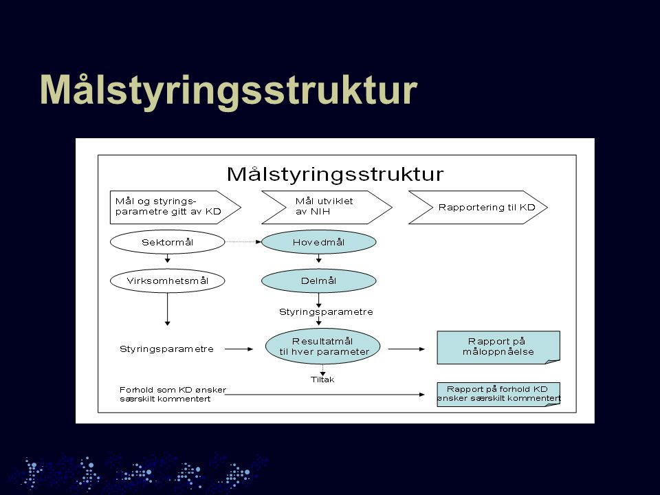 Målstyringsstruktur