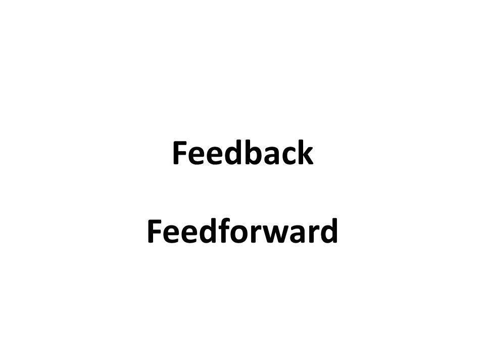 Feedback Feedforward