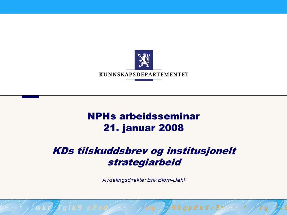 NPHs arbeidsseminar 21.