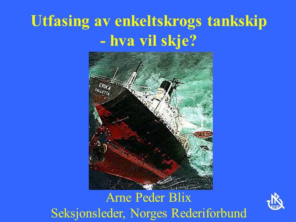 Utfasing av enkeltskrogs tankskip - hva vil skje.