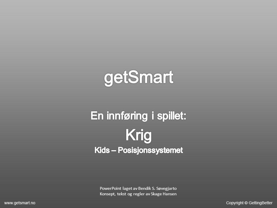 PowerPoint laget av Bendik S. Søvegjarto Konsept, tekst og regler av Skage Hansen