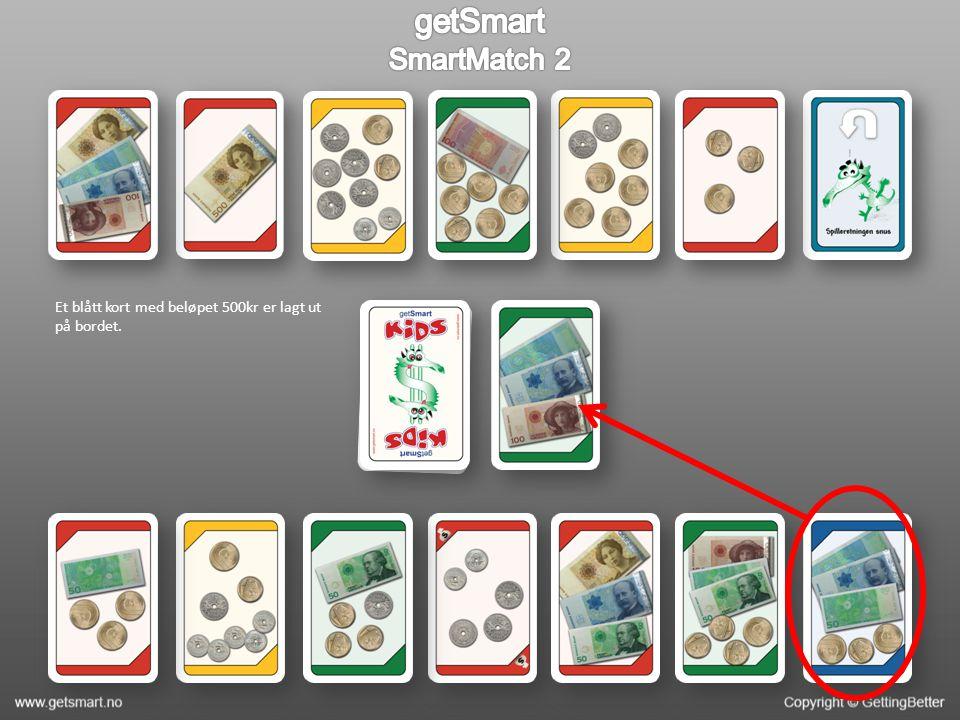 Du ser over kortene dine, og finner fort ut at du har et kort med 110kr.