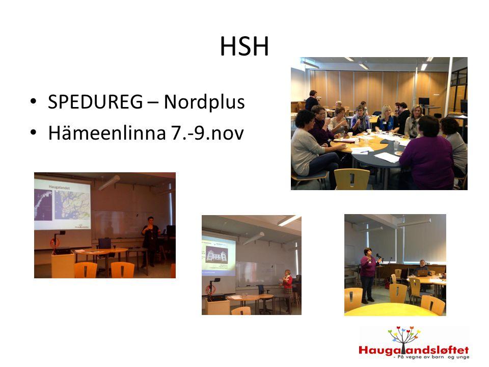 HSH SPEDUREG – Nordplus Hämeenlinna 7.-9.nov