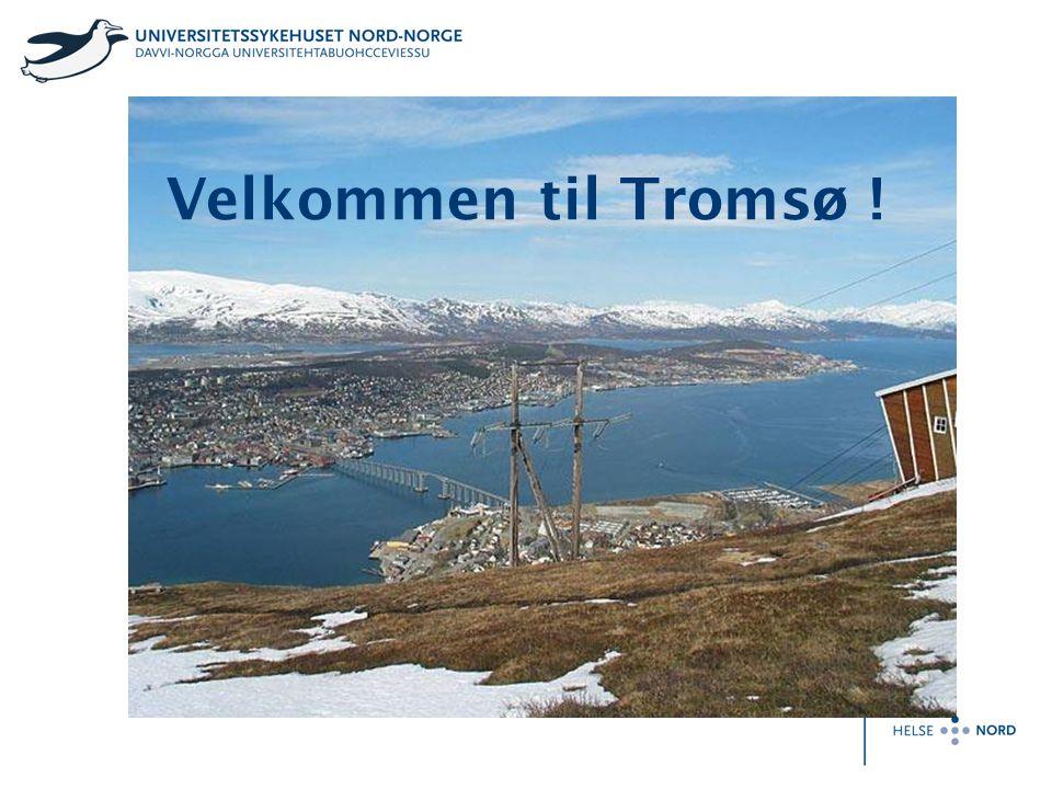 På nesten sytti grader nord, fire dagers seilas fra Bergen og knappe to flytimer fra Oslo, Murmansk eller Longyearbyen, på høyde med nordkystene av Alaska og Sibir, mellom skjærgård, fjorder og spisse alpetopper finner du Tromsø, porten til Ishavet og hovedstaden i Nord-Norge …