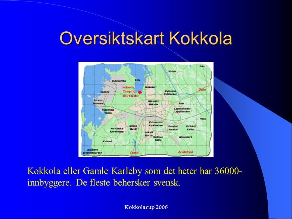 Kokkola cup 2006BUDSJETT Inntekter, interne Lotteri, annen dugnad kr 20000,- Tilskudd klubbkasser TVP, TBK, ILP, VBK kr 24000,- Egenandeler 60 spiller