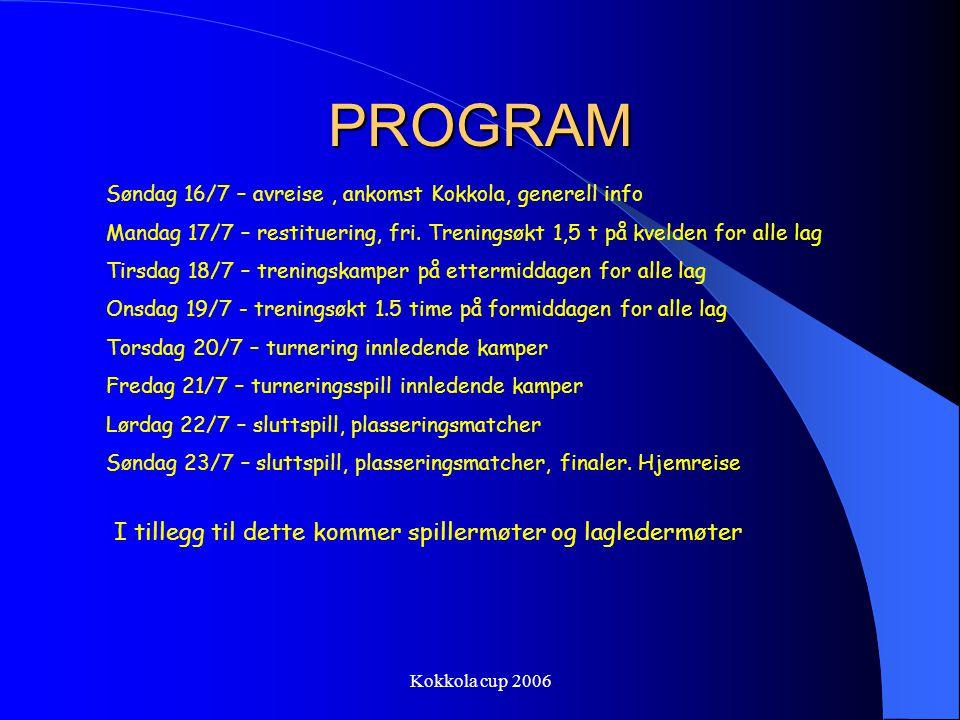 Kokkola cup 2006 Oversiktskart Kokkola Kokkola eller Gamle Karleby som det heter har 36000- innbyggere. De fleste behersker svensk.