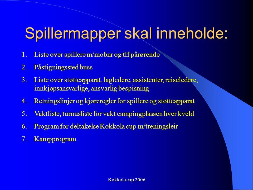 Kokkola cup 2006 Følgende har booket stor hytte 1. Hermod Biti m/fam 4.personer 2. Ståle Røberg, Per Ivar Harila, Bjørn Arvid Gjerde 3.pers 3. Odd Rei