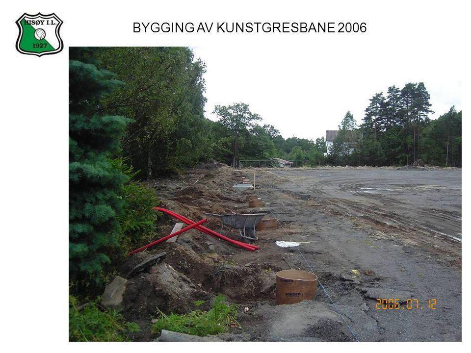 BYGGING AV KUNSTGRESBANE 2006