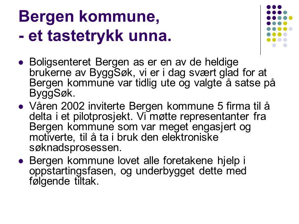 Bergen kommune, - et tastetrykk unna.