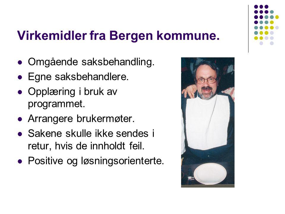 Virkemidler fra Bergen kommune.Omgående saksbehandling.