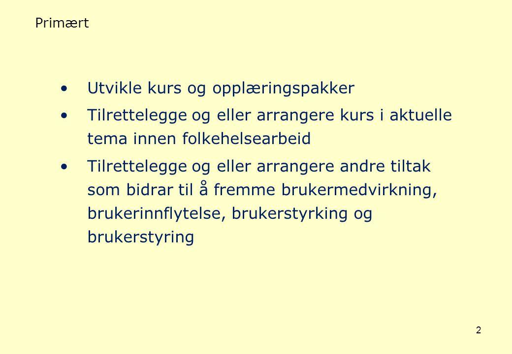 3 Bikubens visjon Bikuben er et opplæringstilbud for hele Nord Norge, som ved hjelp av erfaringskompetanse og brukerressurser bygger opp økt livskvalitet og livsglede.